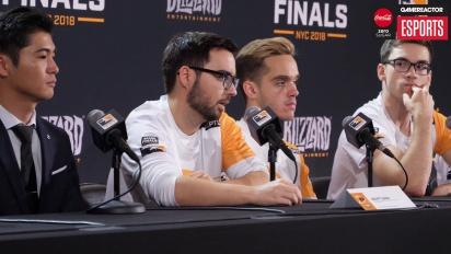 《鬥陣特攻》職業電競聯賽決賽-  Philadelphia Fusion 決賽媒體發布會