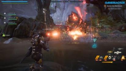 《冒險聖歌》- 協助哨兵 Gameplay