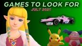 值得期待的遊戲 - 2021年7月