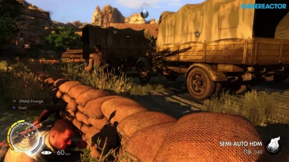 Sniper Elite 3 Ultimate Edition - Mission 3 PS4 Gameplay