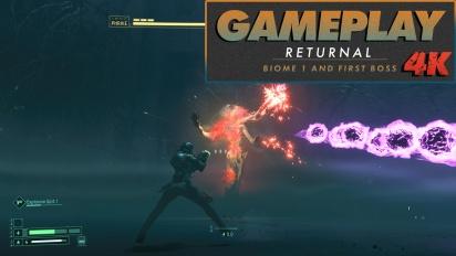 《死亡回歸Returnal》-  Overgrown Ruins 完整遊玩過程,以4K呈現