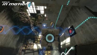 Portal 2 - In Motion PS3 DLC Trailer