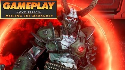 《毀滅戰士:永恆》- Meeting the Marauder Gameplay