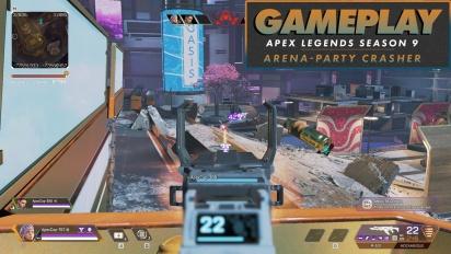 《Apex 英雄》- 第9季:-競技場 (Party Crasher) - Gameplay
