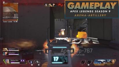 《Apex 英雄》- 第9季:-競技場(Artillery)- Gameplay