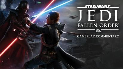 《星球大戰 絕地:組織殞落》- 帶有講解的 Gameplay