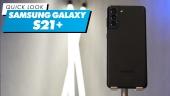 Samsung Galaxy S21+手機 - 快速查看