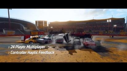 Wreckfest - Playstation 5 Feature Trailer