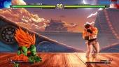 《快打旋風5:街機版》 - 布蘭卡 vs.隆 SFII Path Gameplay