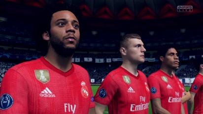 《FIFA 19》- Switch版 尤文圖斯 vs 皇家馬德里 Gameplay