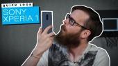 快速查看 -  Sony Xperia 1