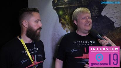 《天命2》- Scott Taylor 與 Örvar Halldórsson 訪談
