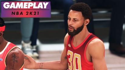 《NBA 2K21》- PS5 Gameplay