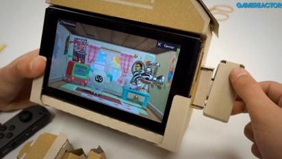 任天堂實驗室:多樣化包 - 房屋 Toy-Con組裝 及 Gameplay