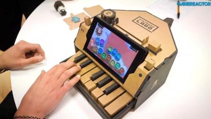 任天堂實驗室:多樣化包 - 鋼琴 Toy-Con 的 Gameplay 展示