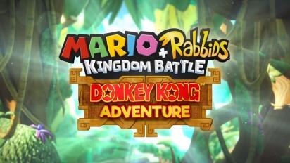 Mario + Rabbids Kingdom Battle - Donkey Kong Adventures E3 2018 Trailer