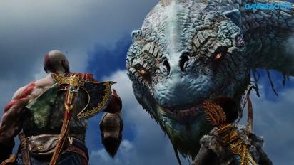 《戰神》- 和巨蛇耶夢加得聊聊〈內有劇透〉