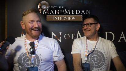 《黑相集:棉蘭號》-  Pete Samuels 與Gareth Betts 訪談
