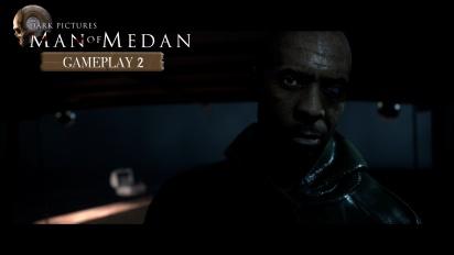 《黑相集:棉蘭號》- 遊戲實機操作過程之綁架片段