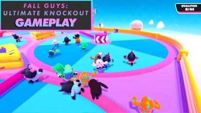《Fall Guys:終極淘汰賽》- Gameplay