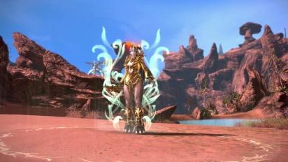 Tera - Shop Update: Golden Armour Designs & Golden Weapon Skins