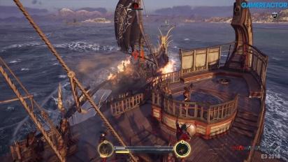 《刺客教條:奧德賽》- 海軍戰鬥  Gameplay