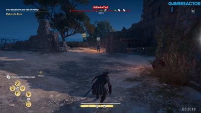 《刺客教條:奧德賽》- 堡壘戰  Gameplay