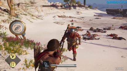《刺客教條:奧德賽》- 征服戰  Gameplay
