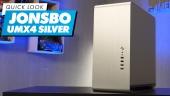 Jonsbo UMX4 Silver 電腦機殼 - 快速查看