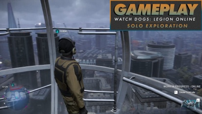 《看門狗:自由軍團 Online》- Gameplay (自己探索)