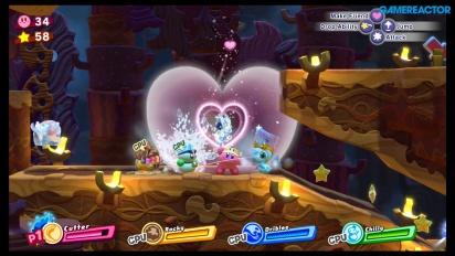 《星之卡比 新星同盟》-甜甜圈穹頂〈Donut Dome〉Gameplay
