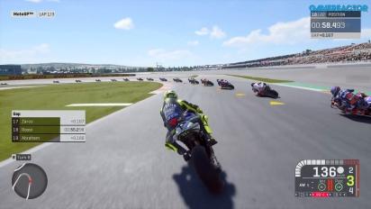 《世界摩托車錦標賽19》-職業瓦倫希亞賽車 Gameplay