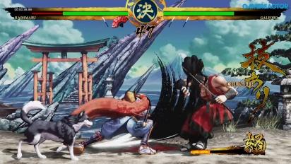 《侍魂 Samurai Shodown》- 霸王丸故事 Gameplay