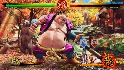 《侍魂 Samurai Shodown》- 地震故事 Gameplay
