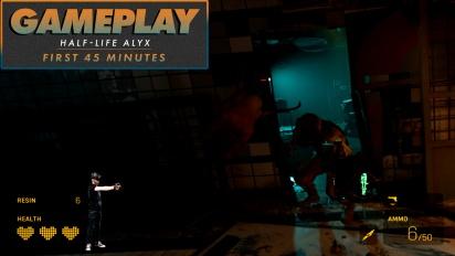 《戰慄時空:艾莉克絲》- 前45分鐘 Gameplay