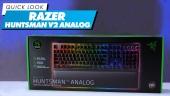 雷蛇 Huntsman V2 Analog 類比式光學遊戲鍵盤 -快速查看