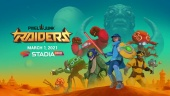 PixelJunk Raiders - Official Announcement Trailer | Stadia