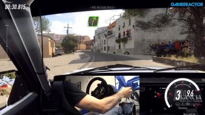 《Dirt Rally 2.0》- 柏油路面 Gameplay - 使用變速桿