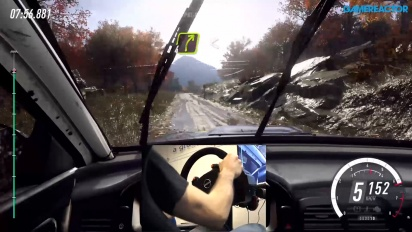 《Dirt Rally 2.0》- 泥巴路面 Gameplay - 使用方向盤與踏板