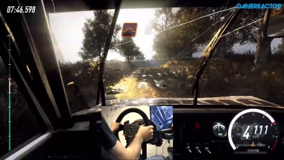 《Dirt Rally 2.0》- 砂石路面 Gameplay - 使用方向盤與踏板