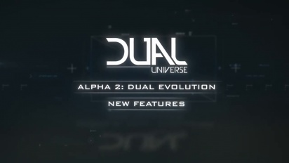 Dual Universe - Alpha 2 New Features Overview Trailer