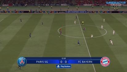 《FIFA 21》遊戲實機操作 - PSG vs 拜仁
