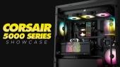Corsair 5000 Series Cases  - 展示