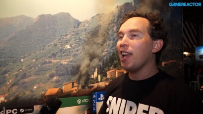 Sniper Elite 4 - Chris Payton Interview