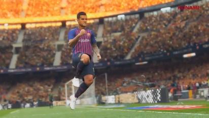 《實況足球2019》-E3 2018 預告片