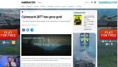 GRTV 新聞 -  《電馭叛客2077》開發完成