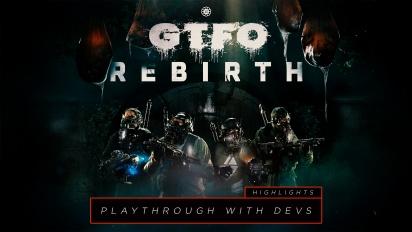 《GTFO》- 跟開發人員一起 Rebirth Rundown 亮點部分擷取