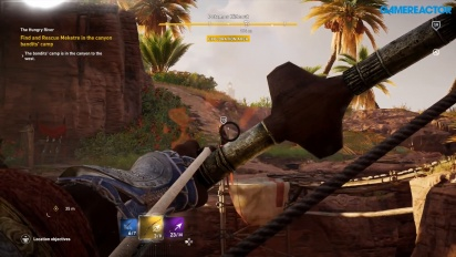 Assassin's Creed Origins - Incursion into enemy camp