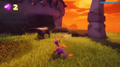 《寶貝龍 Spyro the Dragon:重燃三部曲》- E3 Gameplay