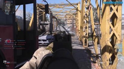《決勝時刻:現代戰爭》-  團隊死鬥對戰 Euphrates Bridge Gameplay